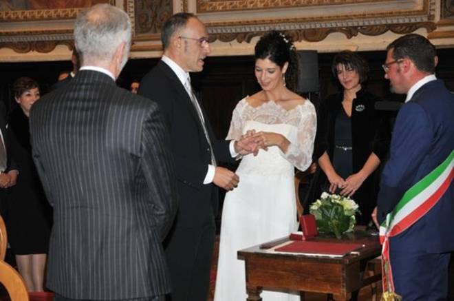 Si e 39 sposato a fabriano l 39 ex senatore francesco casoli for D amico arredamenti casoli