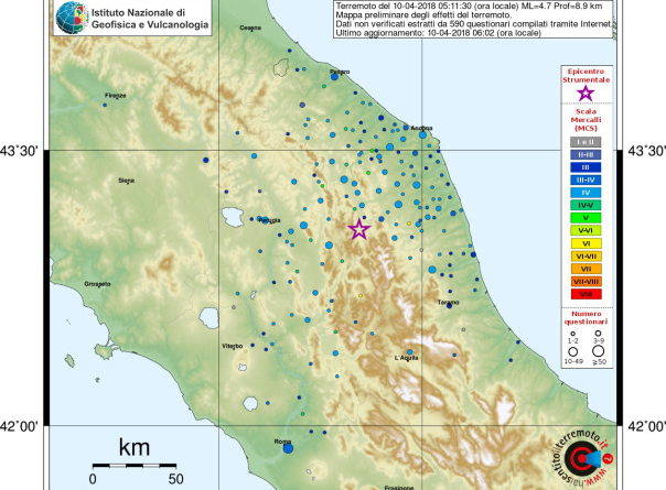 terremoto 10 aprile